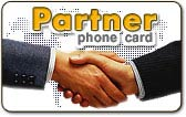 partner prepaid international phone card